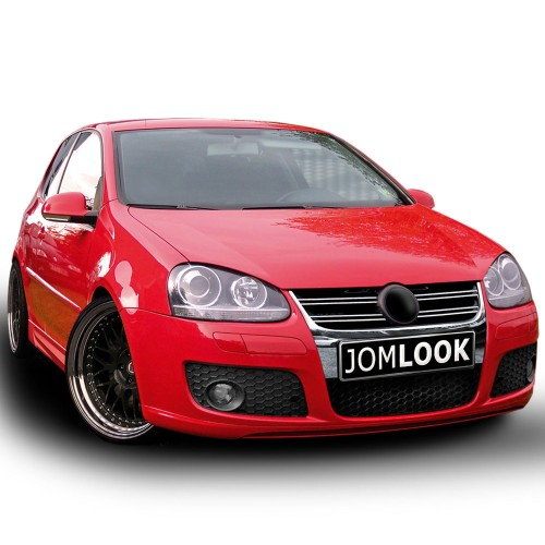 Front bumper in sports design suitable for VW Golf 5