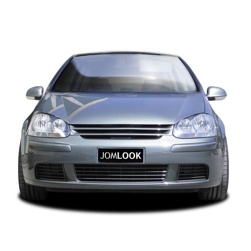 Kühlergrill ohne Emblem, schwarz passend für VW Golf 5