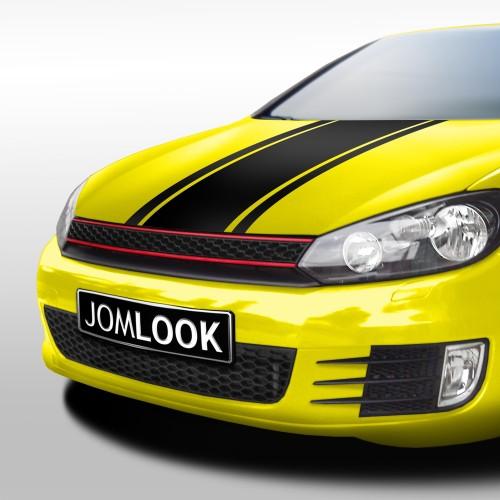 JOM Stoßstange, vorn, im Sport-Look, inkl. Grill und Nebelscheinwerfer passend für VW Golf 6