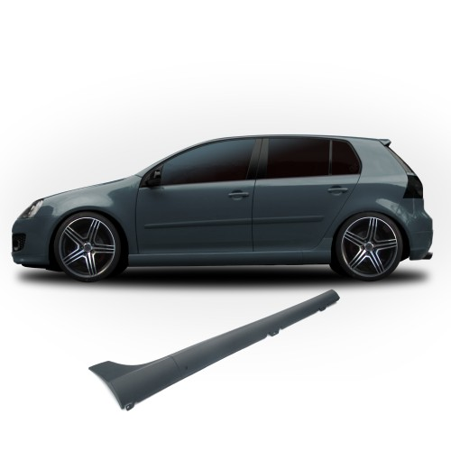side skirts in sports-look with mounting material suitable for VW Golf 5