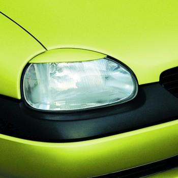 Scheinwerferblenden,böser Blick,ABS Kunststoff passend für Opel Corsa B
