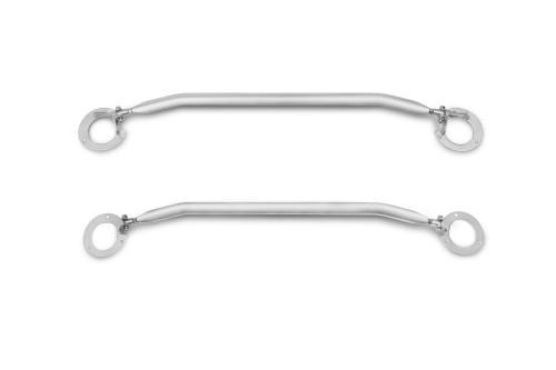 Domstrebe, Aluminium poliert, verstellbar passend für VW Golf 7, 2012-