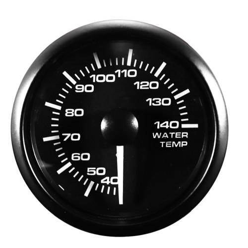 Zusatzinstrument, Wassertemperatur Beleuchtung weiss oder gelb umstellbar incl. Sensor