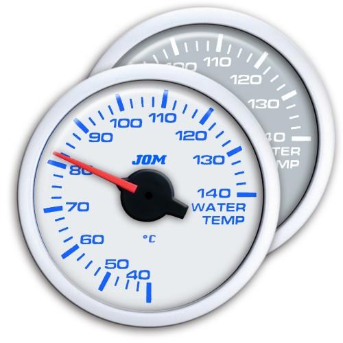 Zusatzinstrument, Dynamic, Wassertemperartur (40~140°C), Schrittmotor Technik, 2-farbige LED Anzeige wählbar, Ø52mm,