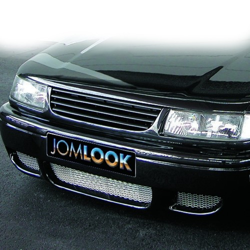 Front Grill badgeless, black suitable for VW Passat 35i year 11.1993-