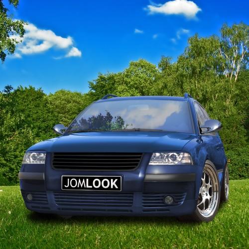 JOM Calandre de radiateur sans sigle VW Passat 3BG 00-, Noir - Qualité allemande