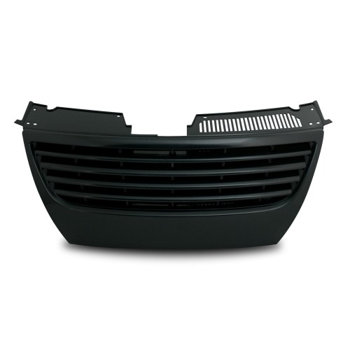 Kühlergrill ohne Emblem, schwarz passend für VW Passat 3C ab Baujahr 04.2005-