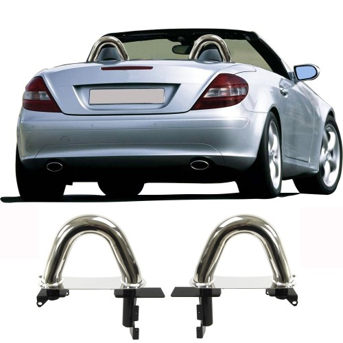 Roll over hoop bars suitable for Mercedes Benz SLK, R171