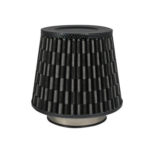 Sportluftfilter Power- Filter, Carbon, 60,70,76,84 und 90 mm passend für universal