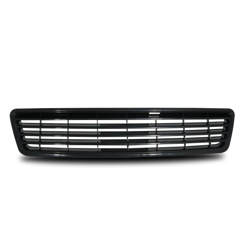 Front Grill badgeless, black suitable for Audi A6 year 5.1997 - 6.2001