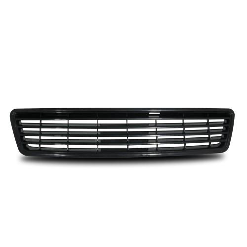 Calandre, JOM, compatible avec  Audi 6, 5.97-6.01, sans sigle, noir