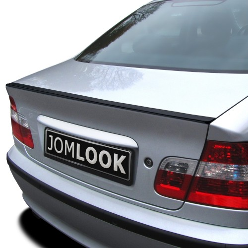Kofferraumspoiler Slim-Style, PVF, Inkl. Klebestreifen, ohne Betriebserlaubnis passend für BMW E46 Limo, 98-05