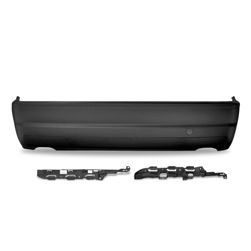 Rear bumper in racing design suitable for BMW 3er E46 Limousine year 5.1998 - 2005