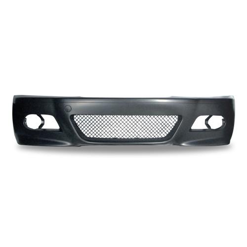 Frontstoßstange mit Nebelscheinwerferaussparungen passend für BMW 3er E46 Limousine  Baujahr 1998 - 2005 nicht für Coupe und Cabrio !