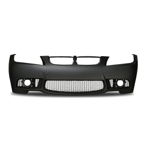 Front bumper in sports design with PDC markinngs and fog lights covers suitable for BMW 3er E90 Limousine and E91 Touring year 2008 - 2011