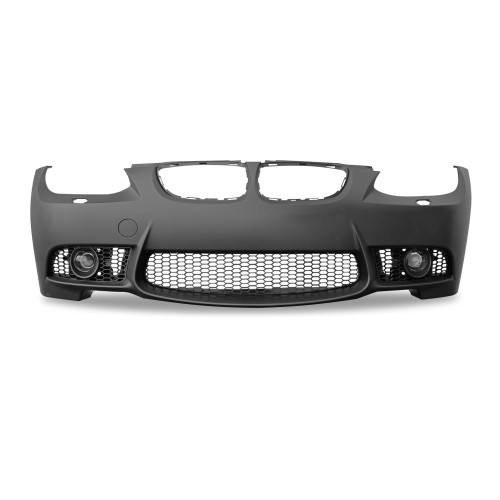 Front bumper in sports design with fog light covers suitable for BMW 3er E92 Coupé year 9.2006 - 2009 and E93 Cabrio year 3.2007 - 03.2010
