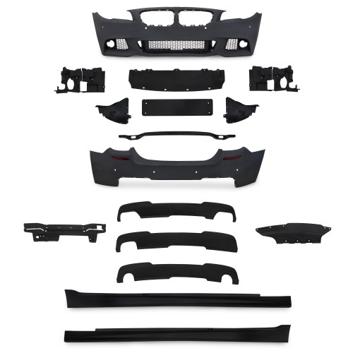 Body Kit incl. side skirts with PDC holes suitable for BMW 5er F10 Limousine year 2010 - 2015