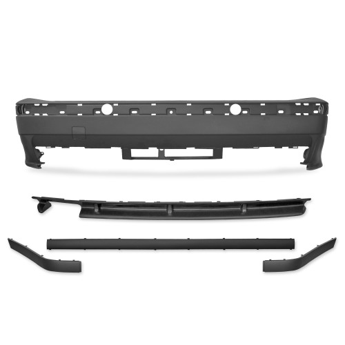 Rear bumper in sport design incl. spoiler suitable for BMW 3er E36 year 1990 - 1998