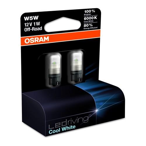 T 10 LED-Leuchtmittel, Osram  LEDriving white 6000K, W5W