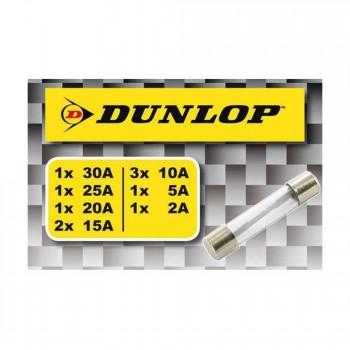 Patronensicherungen, Dunlop, 10 Stück Sortiment