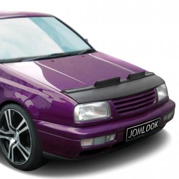 Hauben-Bra, Steinschlagschutz-Maske, Kunstleder, schwarz passend für VW Vento (92-98)