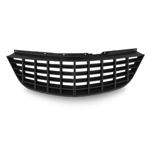 Kühlergrill, Sportgrill, ohne Emblem, schwarz passend für Opel Corsa D Bj. 06-11