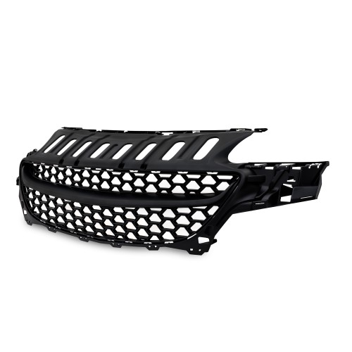 Front Grill badgeless, black suitable for Opel Corsa E year 11.2014-