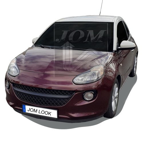 Front Grill badgeless, black suitable for Vauxhall Adam, 2012-2019