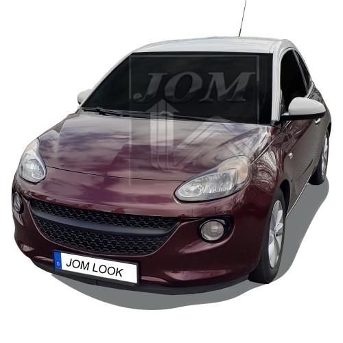 Kühlergitter Kühlergrill Sportgrill ohne Emblem, schwarz für Opel Adam passend für Opel Adam, 2012-2019