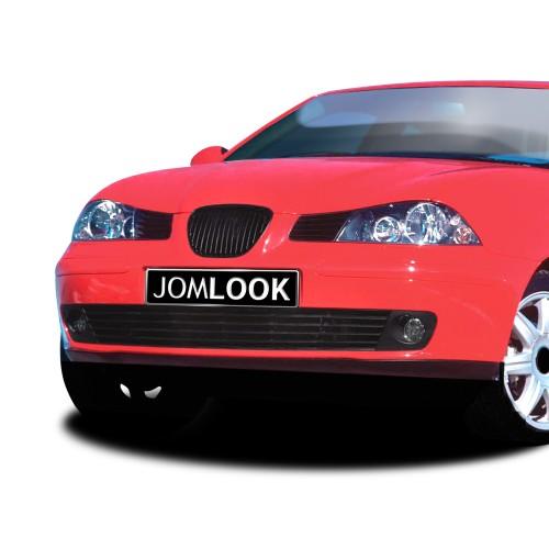 Kühlergrill, Sportgrill, ohne Emblem, schwarz passend für Seat Ibiza, 02-