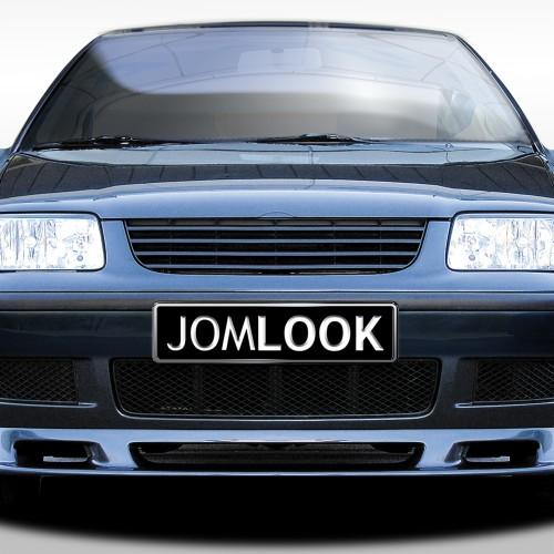 Kühlergrill ohne Emblem, schwarz passend für VW Polo 4 (6N2) ab Baujahr 1999-