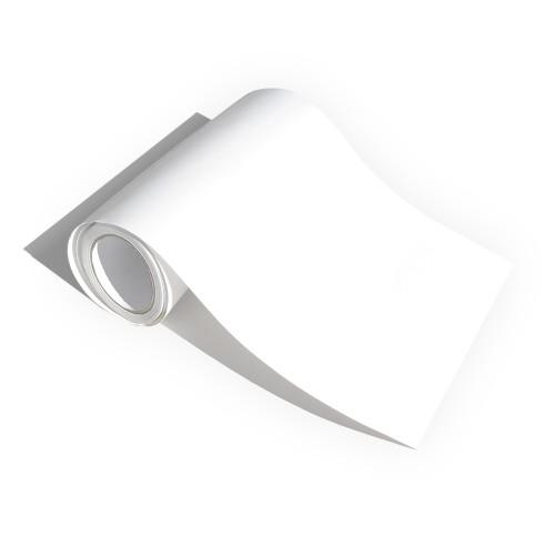 Film adhésif universel, translucide blanc mat, 0,30 x 10 m