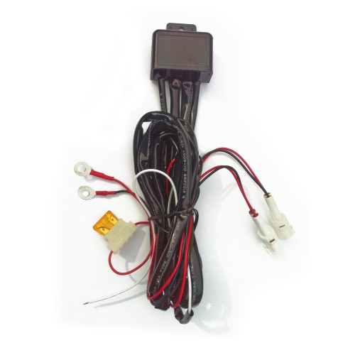 DRL control box, automatic ignition recognition, dim and ComingHome function, for 12V LED daytime running lights