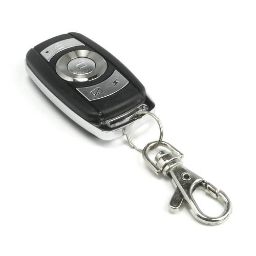 Handsender mit 4 Knopf Funktion, Schwarz/Alu, BMW Optik