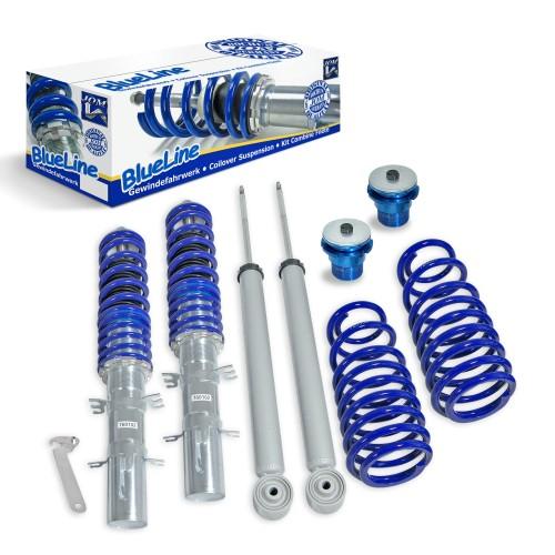 BlueLine Gewindefahrwerk passend für Seat Leon und Toledo (1M), außer Cupra- und TOP Sport-Modelle