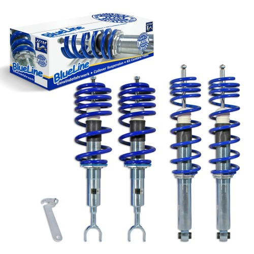 Kit suspension combiné fileté, BlueLine, AV 30-60 / AR 40-60 mm, combiné fileté