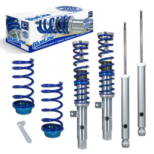 BlueLine Coilover Kit suitable for Ford Focus 1 1.4,1.6, 1.8, 2.0 1.8TD, TDdi, TDCi, except 2.0 RS and Turnier year 10.1998-2004