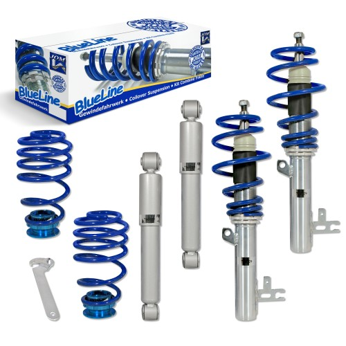 BlueLine Coilover Kit suitable for Opel Astra H incl. Twintop and Caravan