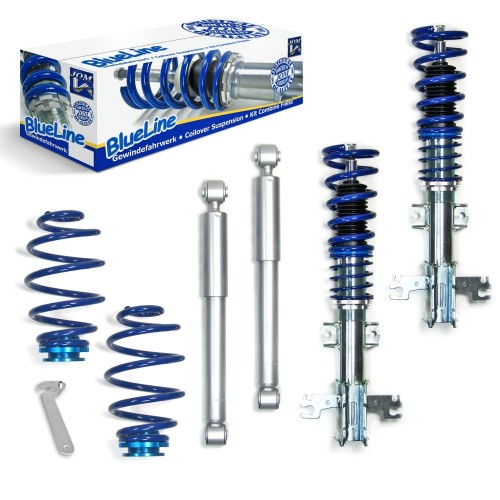 Blueline Coilover Kit suitable for Opel Vectra C Caravan year 2005 - 2008 and Signum year 2003 - 2008, 1.8, 1.9CDTI, 2.0T, 2.216V, 2.2D, 2.2 DTI, 2.8V6T, 3.0CDTI, 3.2