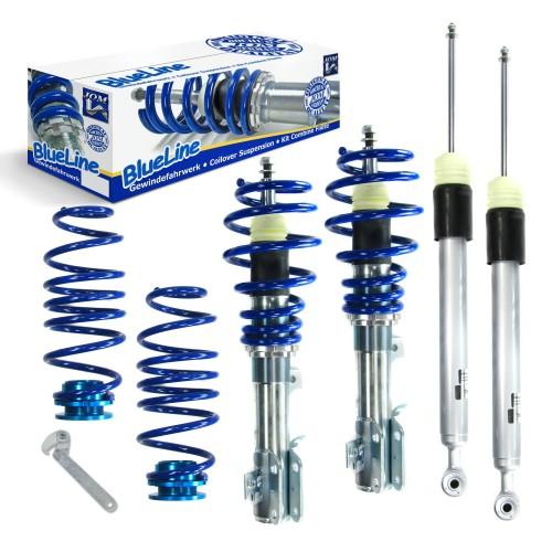 BlueLine Gewindefahrwerk passend für Mazda 2 (DE/DE1) 1.3, 1.5, Baujahr 2007 - 2010