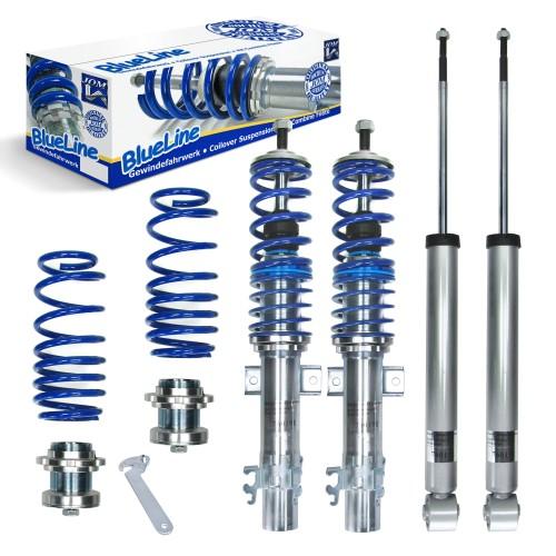 BlueLine Gewindefahrwerk passend für VW Up 1.0, ab Baujahr 2011-
