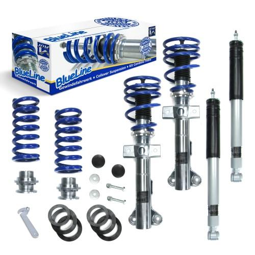 BlueLine Coilover Kit suitable for Mercedes Benz SLK R171 200 supercharger, 280, 300, 350 year 2004 - 2011