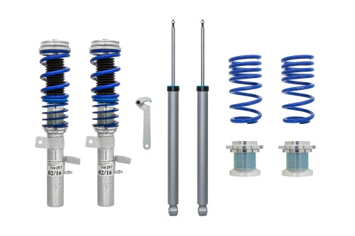 BlueLine Coilover Kit suitable for Ford Focus 3 Limousine (DYB) year 2010 -, except Turnier and ST models