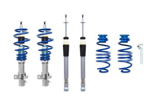 BlueLine Coilover Kit suitable for Honda Civic type Fk1, Fk2, Fk3, Fn1, Fn3, Fn4 year  2005-2011, Not for Hybrid Vehicle