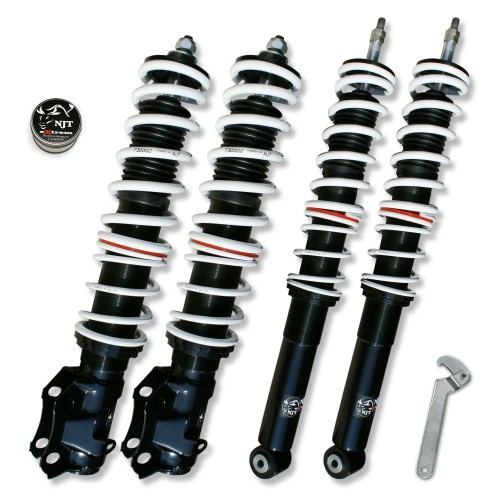 NJT eXtrem Coilover Kit suitable for VW Golf 4 Cabrio
