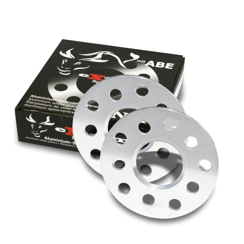 Spurverbreiterung, SportSpacer, 10mm 5/100/112, NLB 57,1 mm passend für Audi/Bentley/Chrysler/Ford/Seat/Skoda/VW