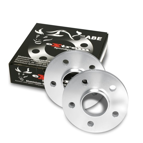 Wheel spacers, NJT eXtrem SportSpacer, 30mm 5/112, Mercedes/ Audi/ VW, NLB 66,6 mm, with hub-locating ring