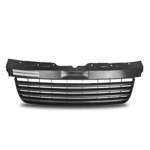 Kühlergrill, Sportgrill, ohne Emblem, schwarz passend für VW T5 Baujahr 2003 - 2009