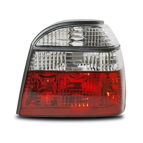 Rear light set red and clear suitable for VW Golf 3 year 1991-1997