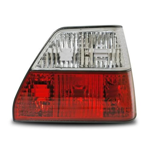 Rückleuchten, Klarglas, rot/weiß passend für VW Golf 2 Bj. 83-91